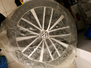 VW 17 Rims Wheels and tires from Highline models