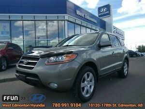 2009 Hyundai Santa Fe LIMITED AWD leather heated seat sunroof