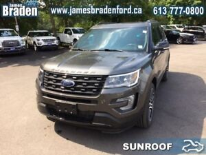2017 Ford Explorer Sport  - Sunroof - Leather Seats