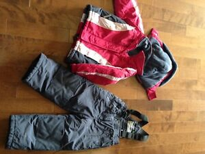 Snow suit girl size 4