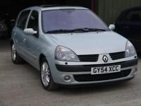 Renault Clio 1.6 AUTOMATIC, 76k ONLY, TOP SPEC, HALF LEATHER, FULL S/HISTORY