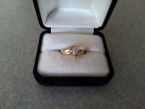 Engagement Ring- comes with certified, stamped appraisal