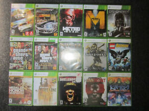 Xbox 360 games lot