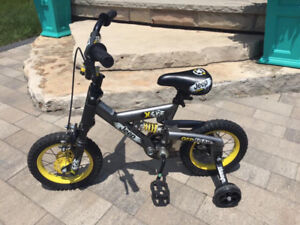 """12inch """"Jeep off road"""" kids bike with shocks and suspension"""