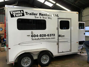 Horse Trailer For Rent North Shore Greater Vancouver Area image 2
