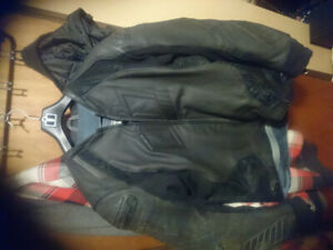 Mens xl icon hypersport prime leather jacket