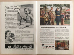 Forty National Geographic Magazines 1945 - 1959