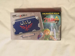 Nintendo 2DS XL Hylian Sheild Edition. BRAND NEW.
