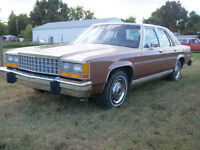 1984 FORD LTD CROWN VICTORIA reasonable offers considered