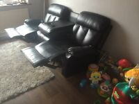 3 seater recliner and 2 seater recliner sofas
