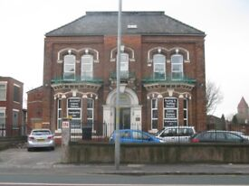 Rooms for accommodation and offices to rent in Cheetham Hill area