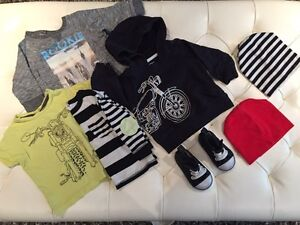 Boys size 9-12 month clothing
