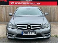 2013 Mercedes-Benz C Class C180 [1.6] BlueEFFICIENCY AMG Sport 2dr Auto COUPE Pe
