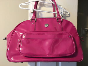 LULULEMON yoga/gym bag, LIKE NEW! Pink and Shiny!