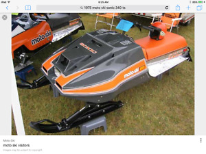 Looking for Skidoo RV parts