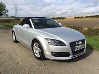 Audi TT 2.9 TFSI Convertible. Low Miles. FSH. Years Mot. Pristine.