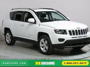 2016 Jeep Compass HIGH ALTITUDE AUTO A/C MAGS TOIT CUIR BLUETOOT