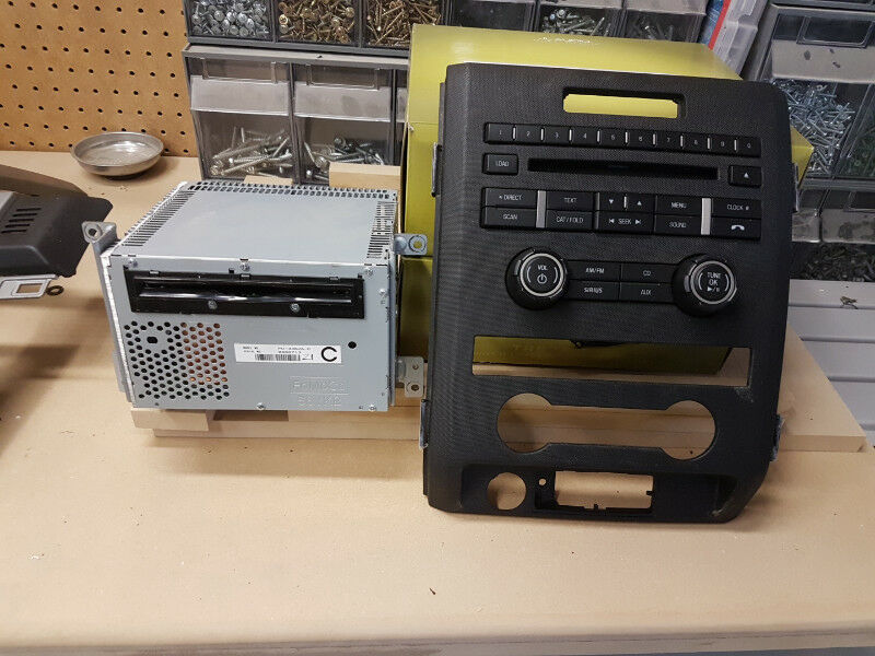 2011 F150 Factory Cd Player With Bezel Obo Other Parts