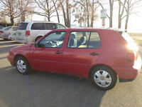 1999 Volkswagen Golf GL Coupe (2 door)