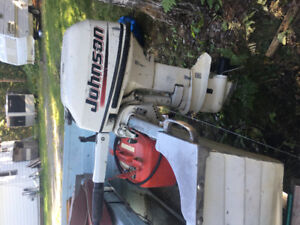 2003 Johnson 9.9 outboard