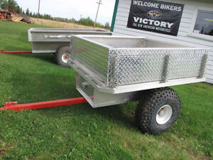 B&H Flatdeck Junior Quad Trailer