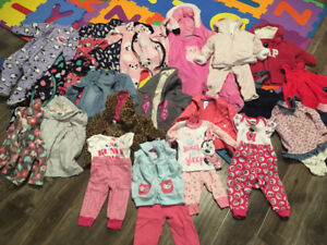 6-12 mths baby girl clothing
