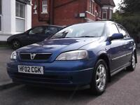 Vauxhall/Opel Astra 1.6i 2002MY Club AIR CON, HPI Clear, S/H, MOT 27/3/2017