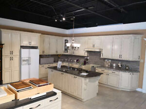 Maple wood & MDF cabinets & quartz ON SALE IN DKC