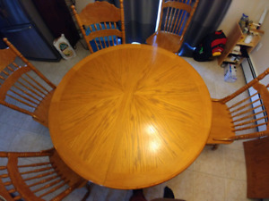 Dining room table, $300 OBO