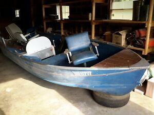 Starcraft 16 Foot Aluminum Boat with Outboard Motor $1,199 OBO