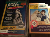 Dog car Harness & Head collar Lrg sz-retails $58 new-$$ 33 $$