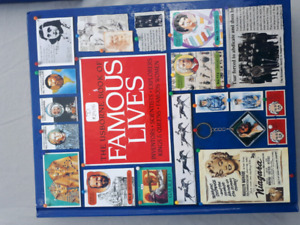 FAMOUS LIVES BOOK $10