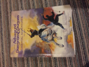 Oriental Adventures Advanced Dungeons & Dragons D&D AD&D nm book