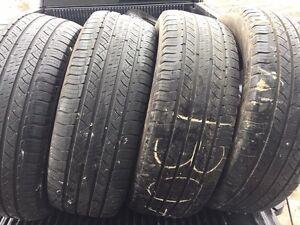 4 pneus été 255/60R19 108s Michelin Lattitude Tour