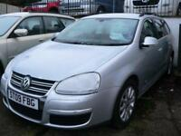 Volkswagen Golf 2.0TDI Automatic Estate 2008 SE F/S/H 1 Owner Low Mileage