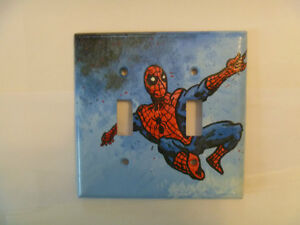 SPIDER-MAN Single and Double Light Switch Plates