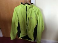 Altura Cycle Jacket, Size L, yellow, waterproof. Excellent condition.