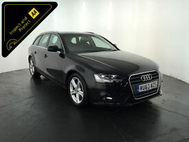 2013 63 AUDI A4 TECHNIK TDI DIESEL ESTATE 1 OWNER SERVICE HISTORY FINANCE PX