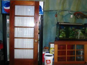 NEW PRICE...2 Nice solid wood doors