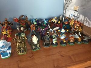 Sky landers lot  with portal 2 games works great