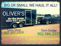 Need stuff moved? Best rates in town starting at $45.00 per hour
