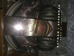 Batman v Superman Dawn of Justice Headphone - New in package