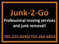 Professional movers servicing Northeastern Ontario