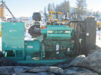 Attention gravel crushers + gold miners - 2 Cummins gensets