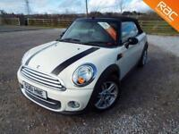 MINI CONVERTIBLE COOPER 2011 Petrol Manual in White