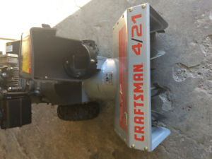 $500 · Next to new 21 inch Craftsman Snow Blower For Sale