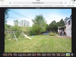Home for sale Pierrefonds-Off Gouin & Hwy 13