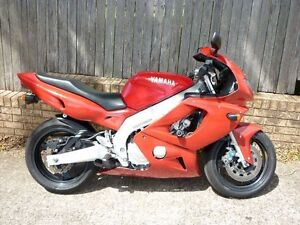 1996 Yamaha YZF600R Super sports not R1 or R6 No Reserve