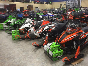 Arctic Cat Snowmobile BLOWOUT Until Halloween - All Below Cost!