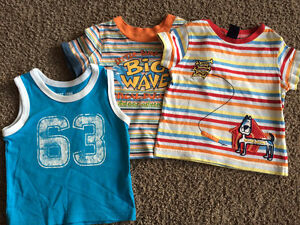 Children's Place T-shirts, size 12 months